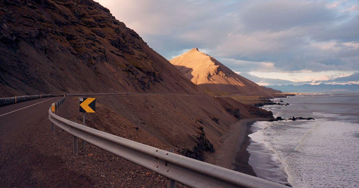 Траса на південному сході Ісландії