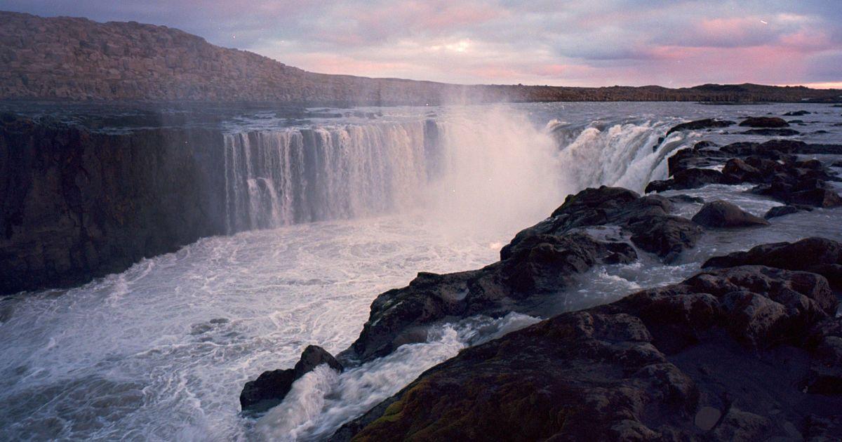 Водоспад Сельфосс