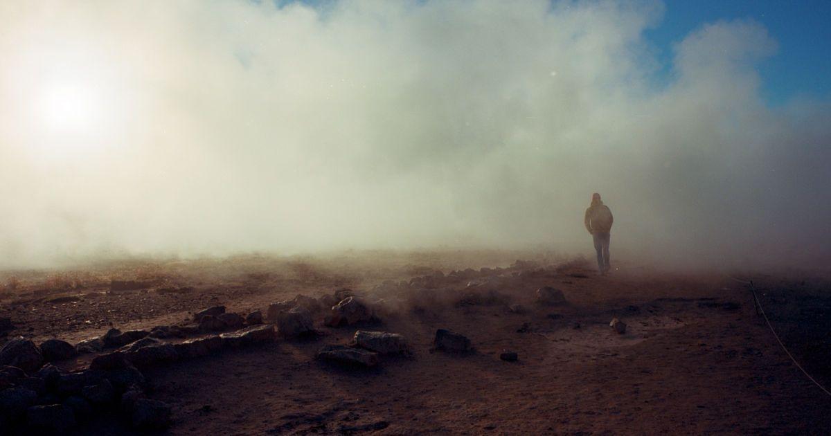 Гора Наумафьятль, Долина гейзерів - Хаукадалур