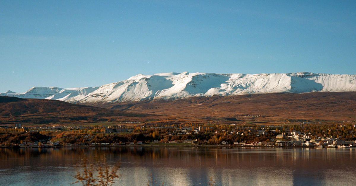 Акурейрі, яскраве ісландське місто
