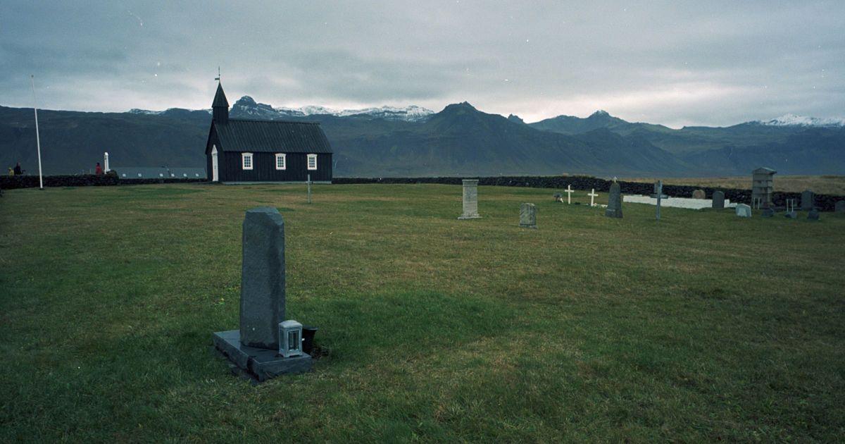 Чорна церква Búðakirkja, Захід Ісландії