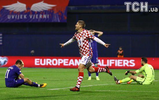 Хорватія розгромила Грецію, а Швейцарія скромно перемогла Північну Ірландію