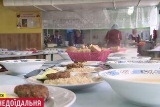 У школах одного з районів Києва закрилися їдальні