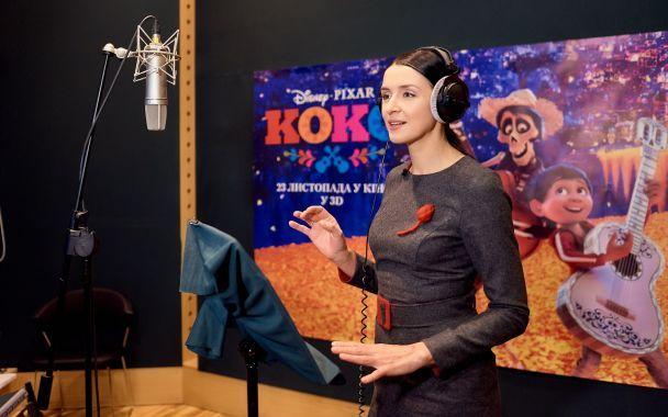 Валентина Хамайко взяла участь у дубляжі мультфільму Disney