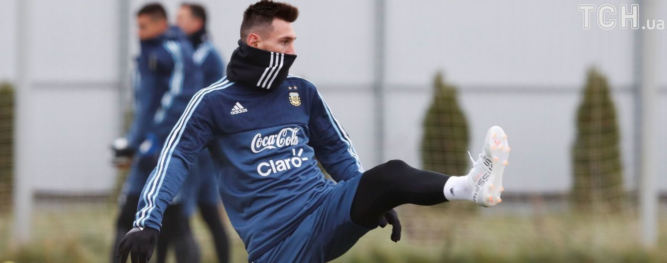 Месси не считает Аргентину фаворитом ЧМ-2018