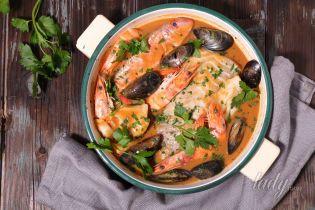 Топ-3 супов из морепродуктов