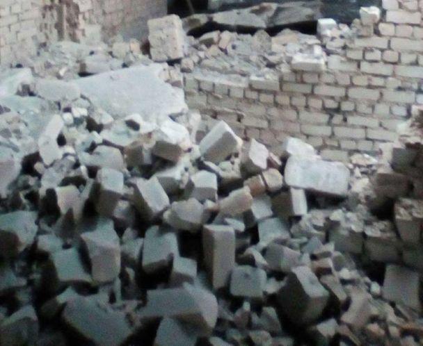 В штабе АТО показали последствия обстрела боевиками Песков из танков