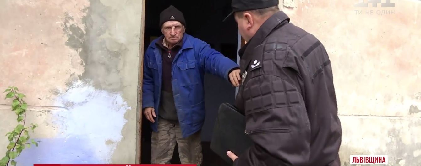 На Львівщині селянка наскаржилася на сусіда-педофіла, бо той показав свій статевий орган її дітям
