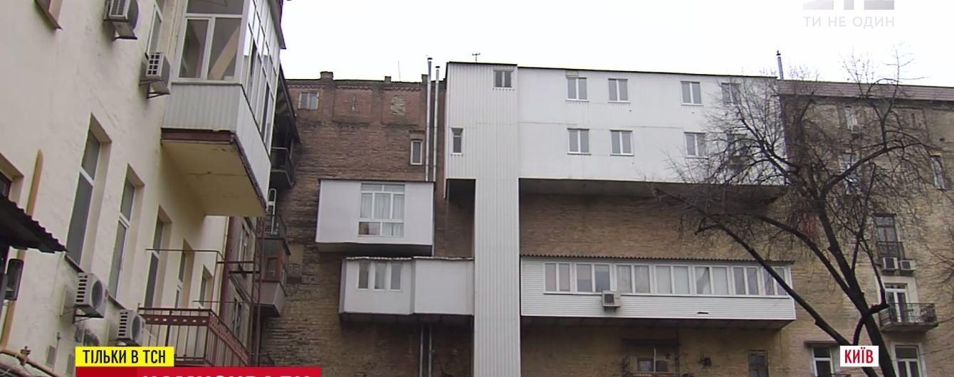 """Киев теряет архитектурный шарм из-за """"эпидемии"""" пристроек"""