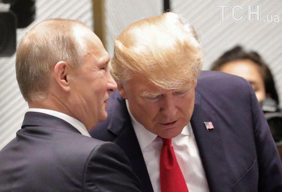 Міцний мир в Україні і боротьба з бойовиками в Сирії. Про що говорили Путін і Трамп