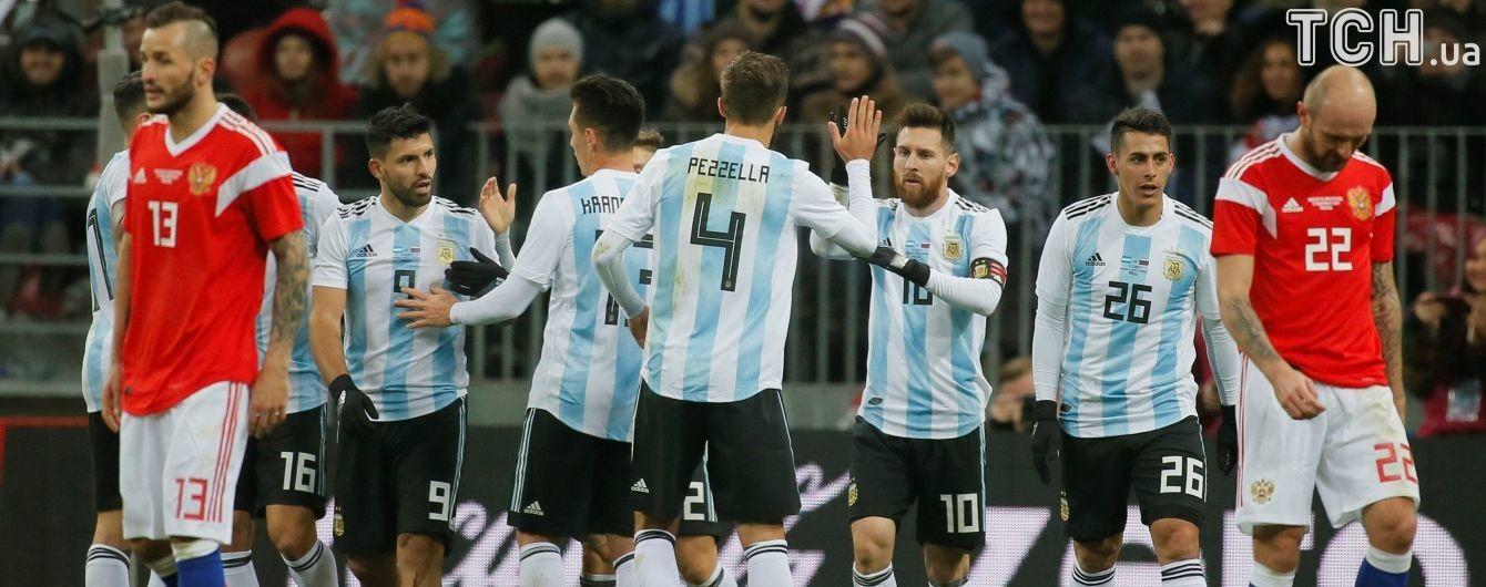 Збірна Аргентини дотисла у самому кінці Росію