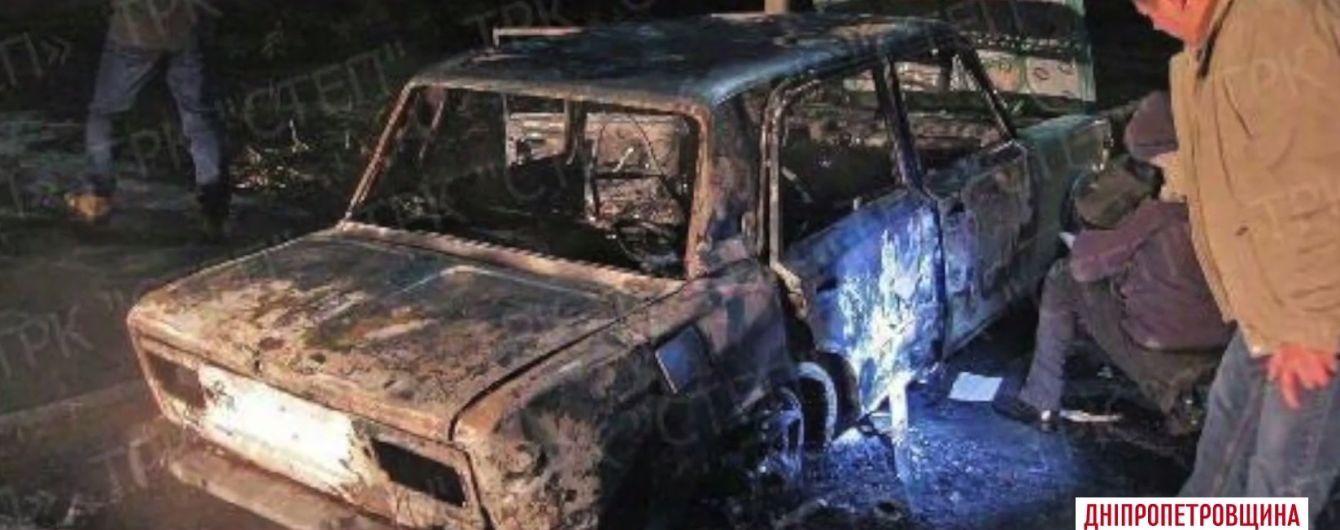 Біля Дніпра машину поліцейських розстріляли з ручного гранатомета