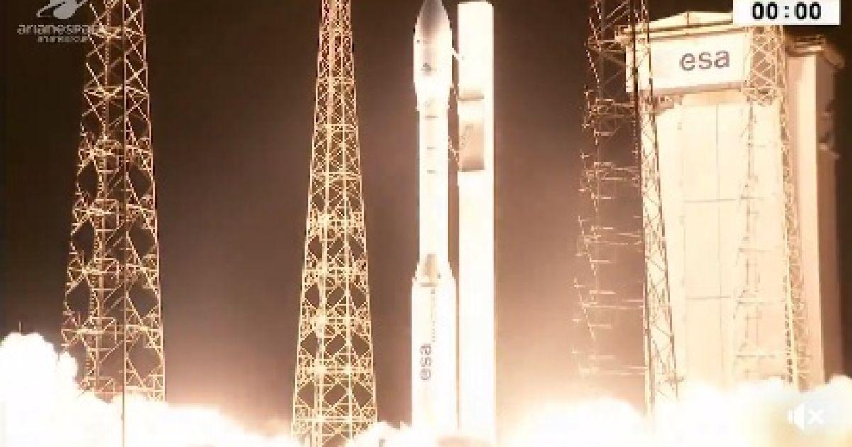 pravda.com.ua З явилися фото і відео видовищного запуску ракети
