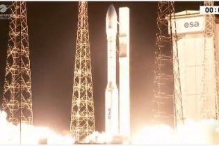Во Французской Гвиане успешно запустили европейскую ракету с украинским двигателем