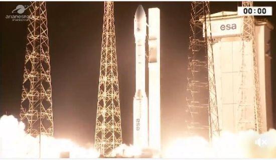 У Французькій Гвіані успішно запустили європейську ракету з українським двигуном