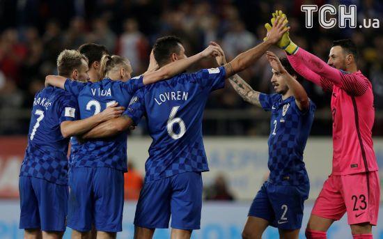 Хорватія зіграла внічию з Грецією і вийшла на ЧС-2018