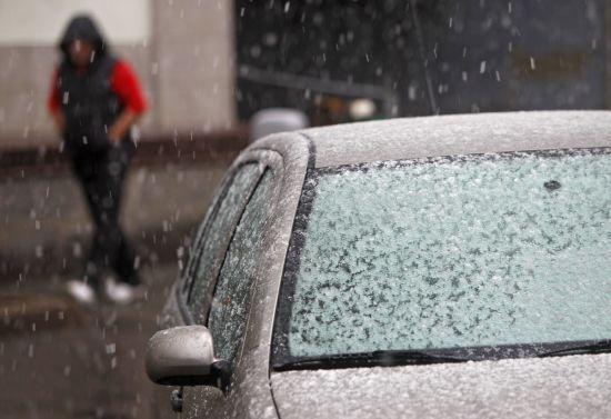 Синоптики обіцяють місцями мокрий сніг та нічний мороз до 12 градусів