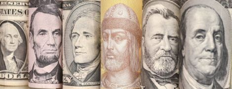 Нацбанк определился с официальными курсами валют на четверг. Инфографика
