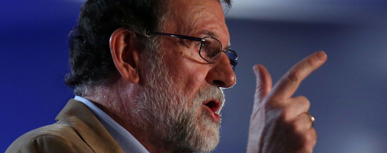 Премьер Испании впервые с начала кризиса приехал в Каталонию