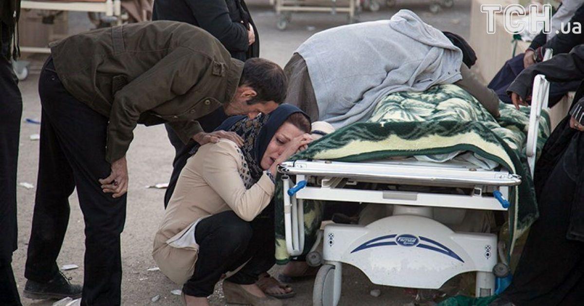 Кількість загиблих через потужний землетрус в Іраку та Ірані суттєво зросла