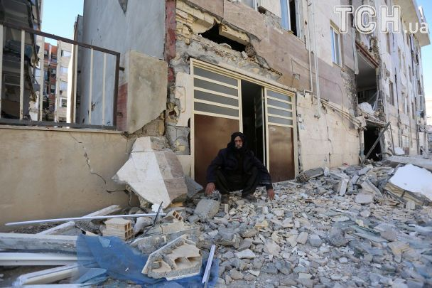 Землетрус в Ірані та Іраку