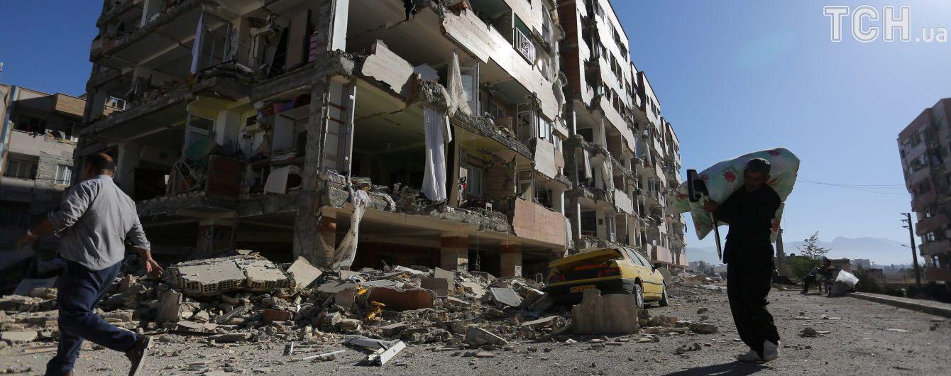 В Иране произошло мощное землетрясение, более 20 раненых