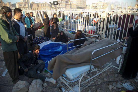 Унаслідок землетрусу в Ірані постраждало майже 130 осіб
