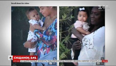 Папараці сфотографували 5-місячних малюків Бейонсе