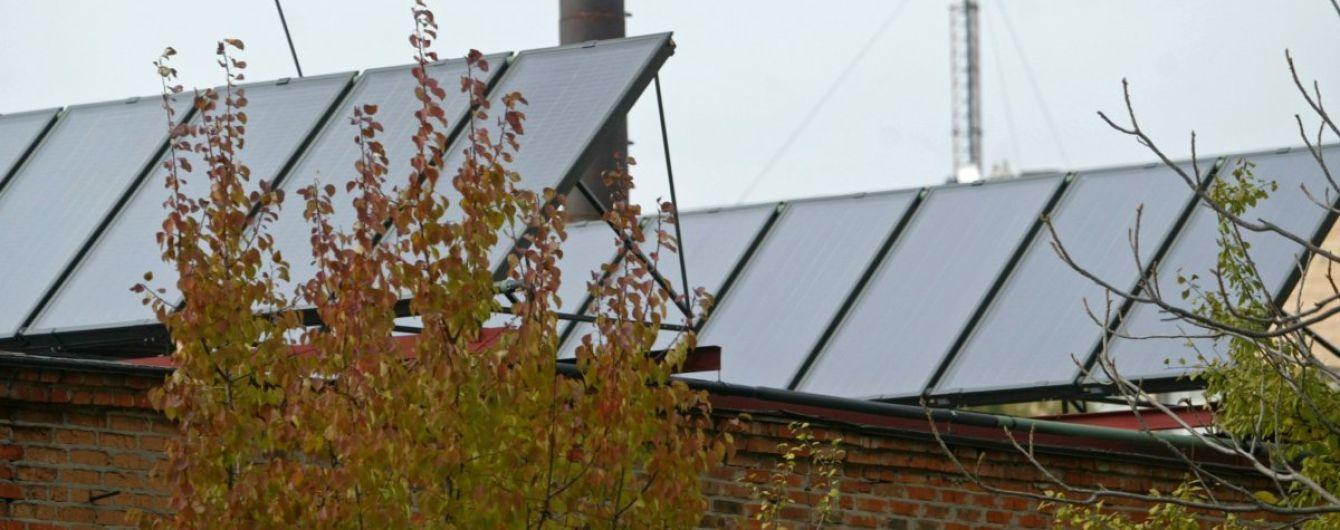 В Україні постійно зростає виробництво сонячної електроенергії