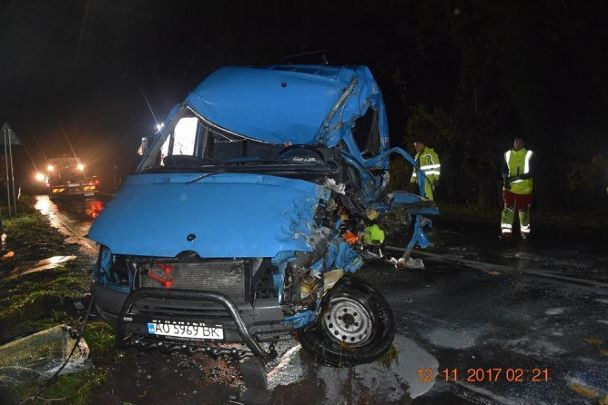 Смертельное ДТП вСловакии: разбился микроавтобус сукраинцами