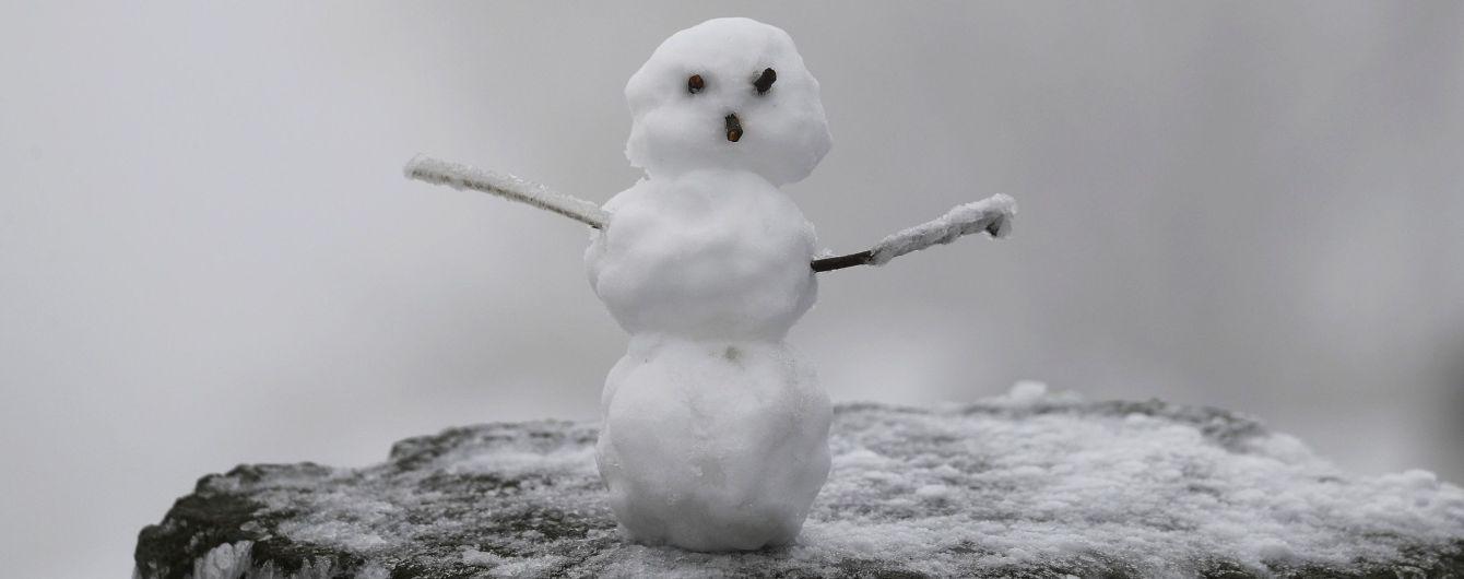 Пятница будет холодной, с гололедом и местами со снегом. Прогноз погоды
