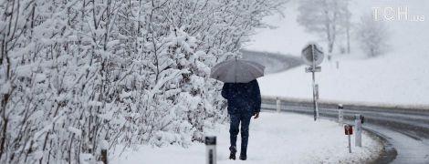 У середу в окремих регіонах ітиме сильний мокрий сніг. Прогноз погоди на 22 листопада
