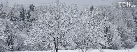 Четвер буде холодним та зі снігом на Сході. Прогноз погоди на 23 листопада