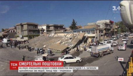 Сім тисяч потерпілих потребують медичної допомоги внаслідок землетрусу біля Іраку
