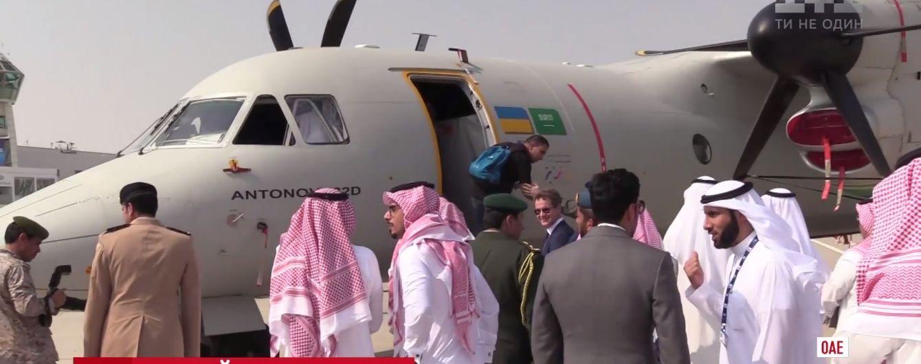 """""""Антонов"""" підписав мільйонні контракти на авіашоу в Дубаї"""