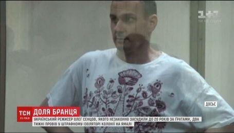 Украинского режиссера Олега Сенцова две недели держали в штрафном изоляторе