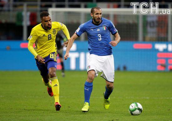 Ще троє футболістів збірної Італії завершили міжнародну кар'єру після невиходу на ЧС-2018