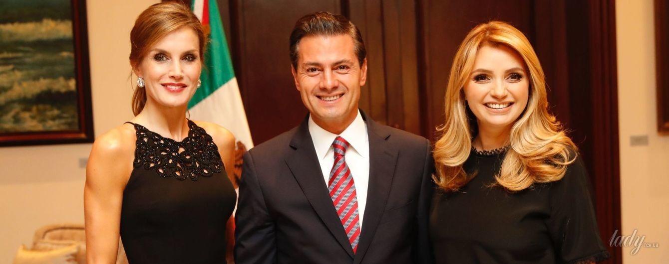 Битва образов: королева Летиция vs первая леди Мексики Анхелика Ривера