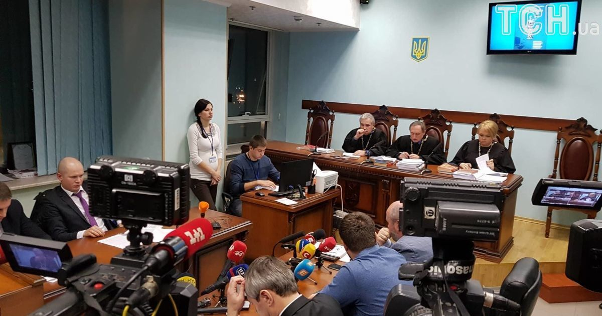 Рассмотрение апелляции прошло под пристальным вниманием прессы, сам Аваков-младший присутствовал на суде @ Фото Ивана Гребенюка/ТСН