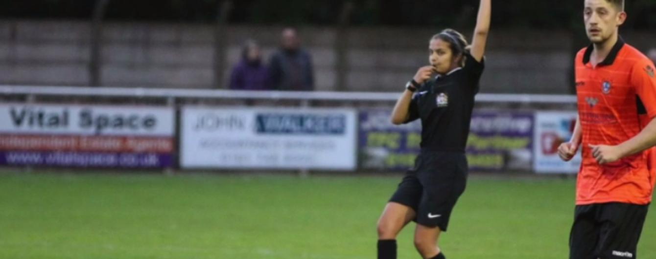 Юная девушка-арбитр стремится войти в историю Английской Премьер-лиги