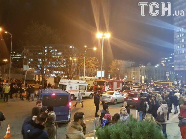 ВКиеве заминировали сразу три здания