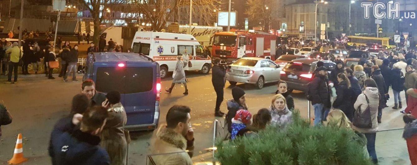 В Киеве вечером пришлось эвакуировать две тысячи человек