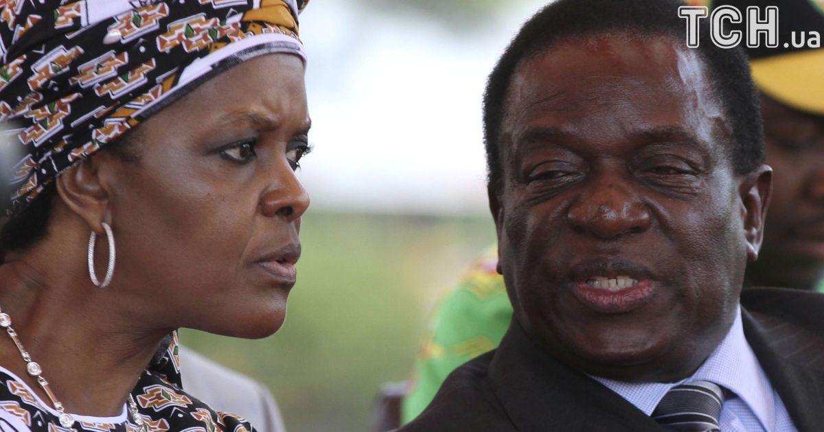 """Головні претенденти на зімбабвійський """"трон"""" - Грейс Мугабе і Еммерсон Мнангагва. @ Reuters"""