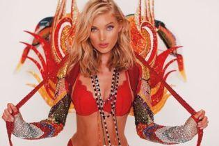 Сюрприз от Victoria's Secret: Эльза Хоск показала роскошный аутфит от Swarovski, в котором выйдет на подиум