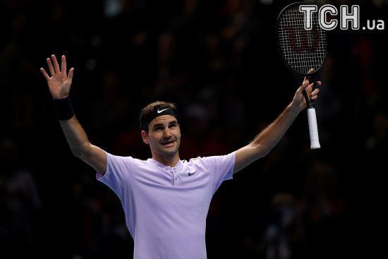 Федерер вийшов у півфінал Підсумкового турніру в Лондоні