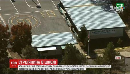 В Калифорнии неизвестный открыл огонь на территории начальной школы