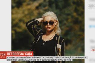 Претендентку на звание «Мисс Украина» задержали нетрезвой за рулем