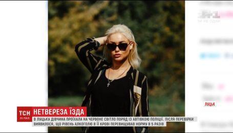 """Полицейские поймали за рулем пьяной претендентку на участие в конкурсе """"Мисс Украина"""""""