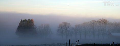 Спасатели предупреждают водителей в Киеве и на западе о тумане, а на востоке - о гололедице
