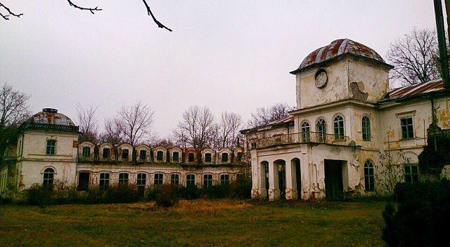 Палац Муравйових-Апостолів, село Хомутець